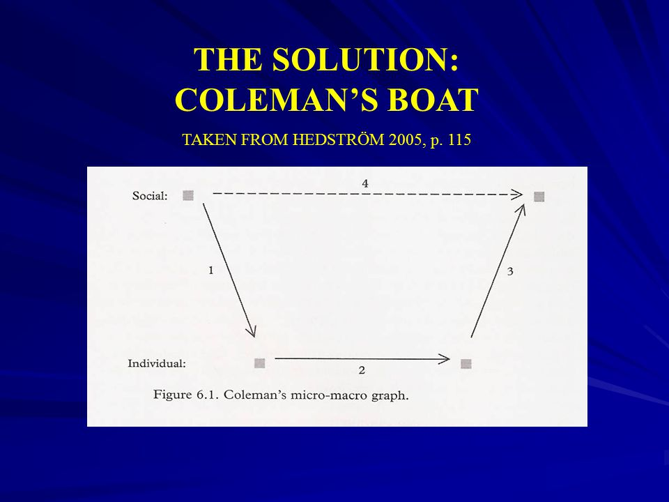 THE SOLUTION: COLEMAN'S BOAT