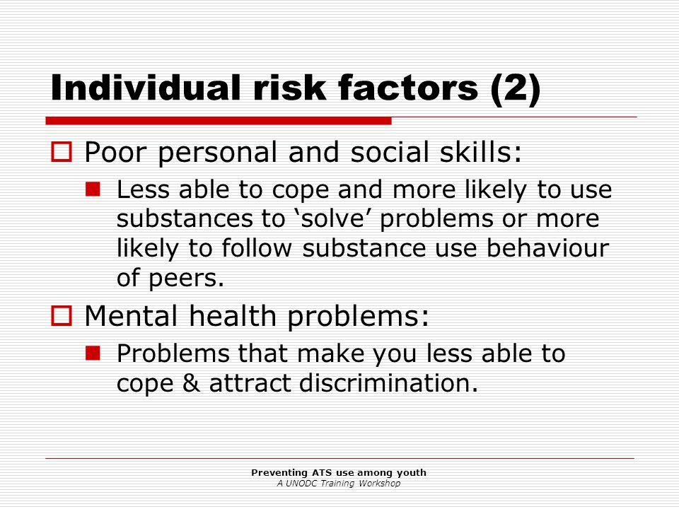 Individual risk factors (2)