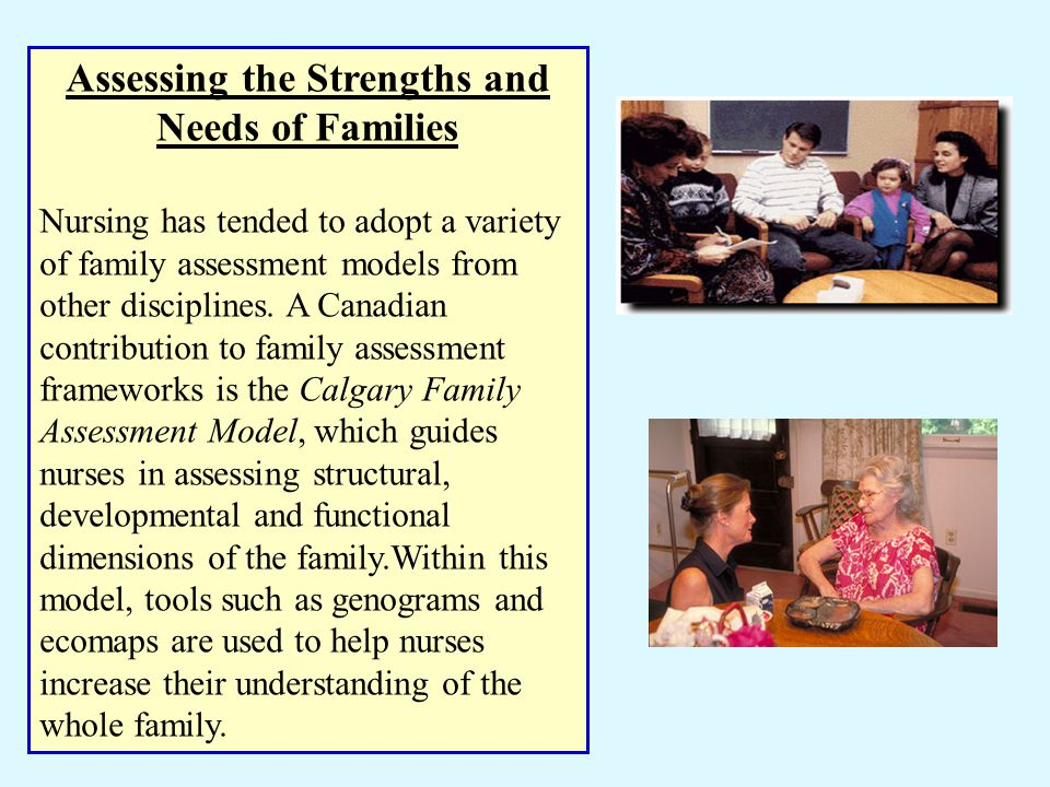 Assessing the Strengths and Needs of Families