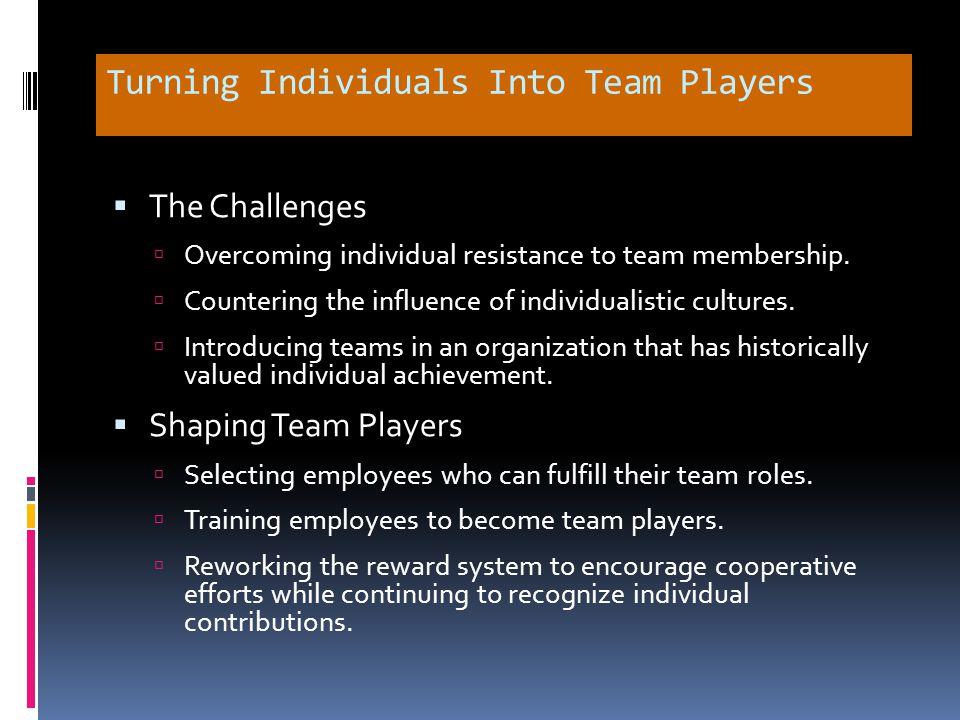 Chapter Check-Up: Teams