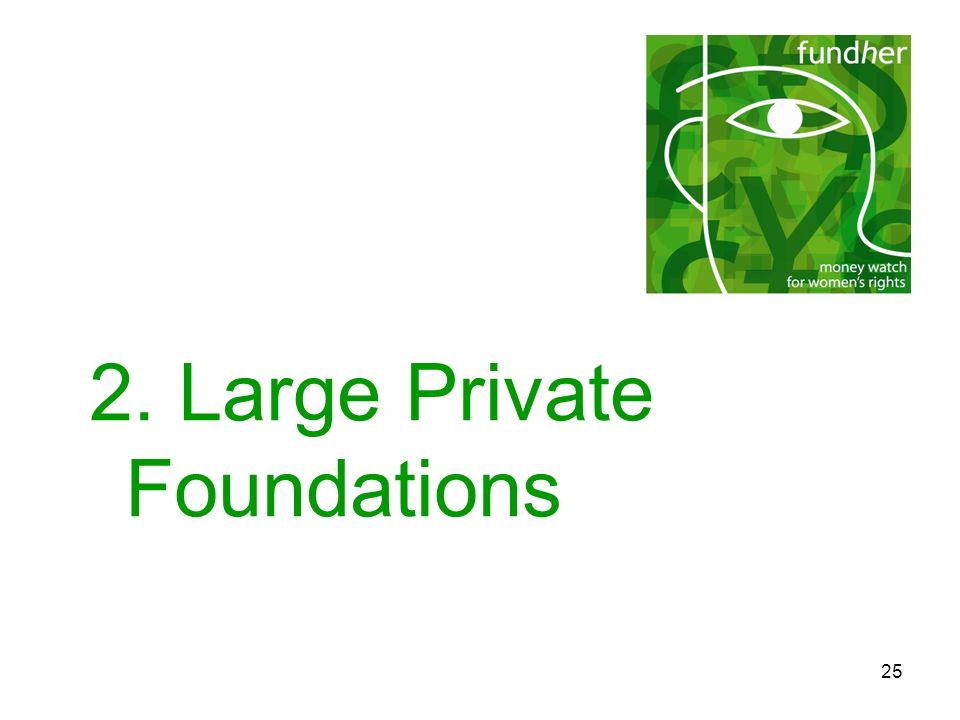 2. Large Private Foundations