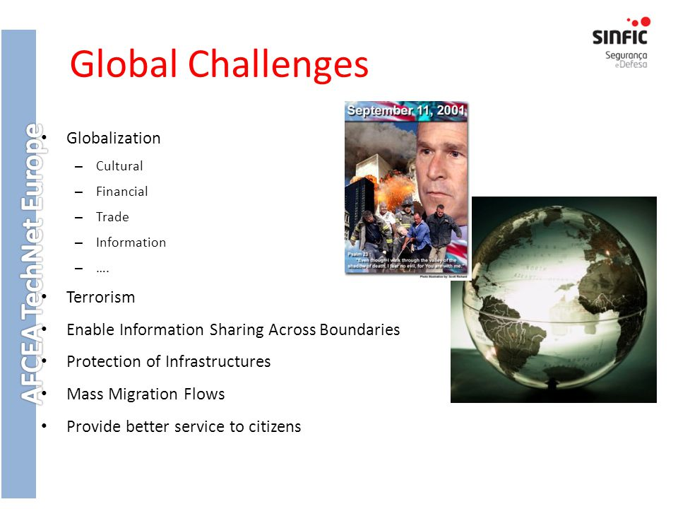 Global Challenges Globalization Terrorism