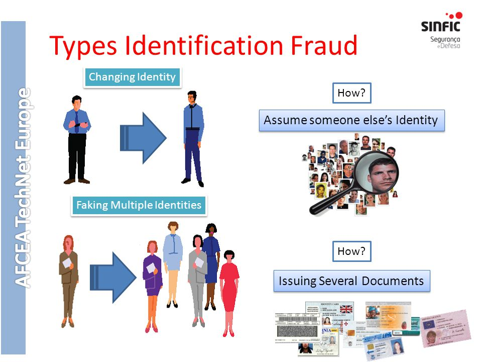 Types Identification Fraud