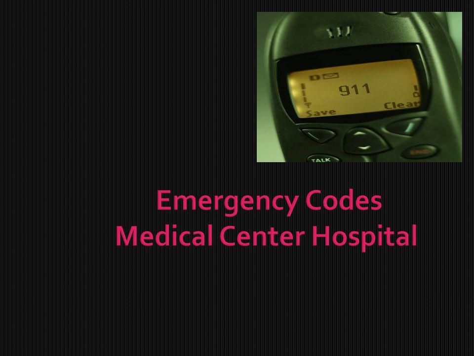 Emergency Codes Medical Center Hospital