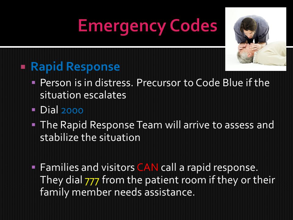 Emergency Codes Rapid Response