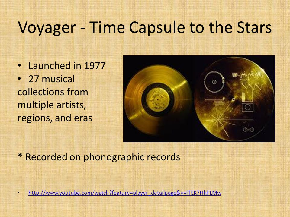 Voyager - Time Capsule to the Stars