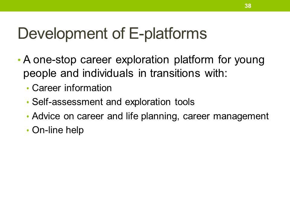 Development of E-platforms
