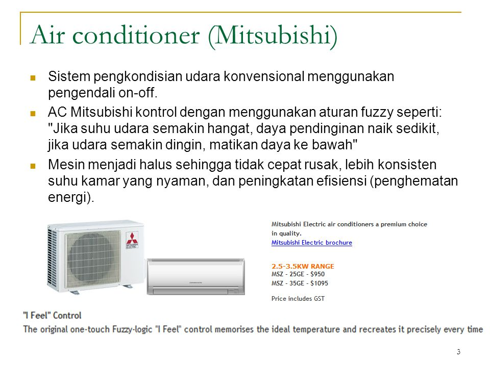 Air conditioner (Mitsubishi)