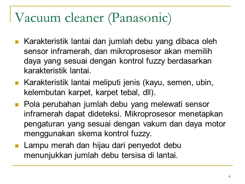 Vacuum cleaner (Panasonic)