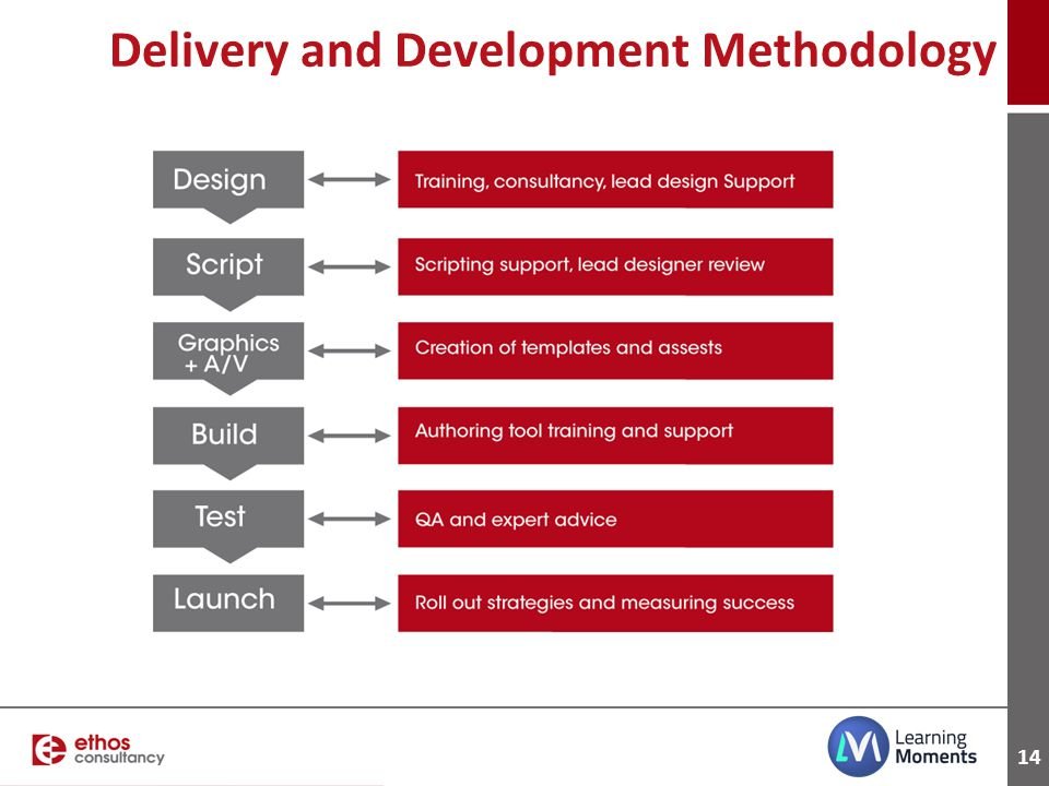 Delivery and Development Methodology