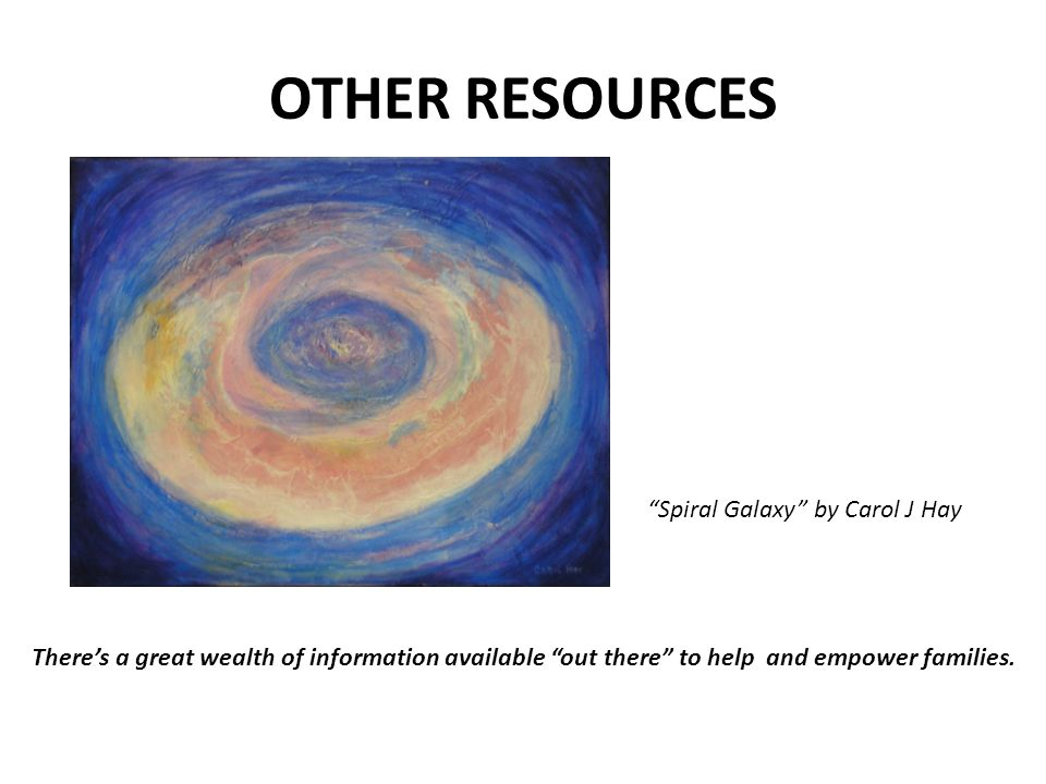 OTHER RESOURCES Spiral Galaxy by Carol J Hay