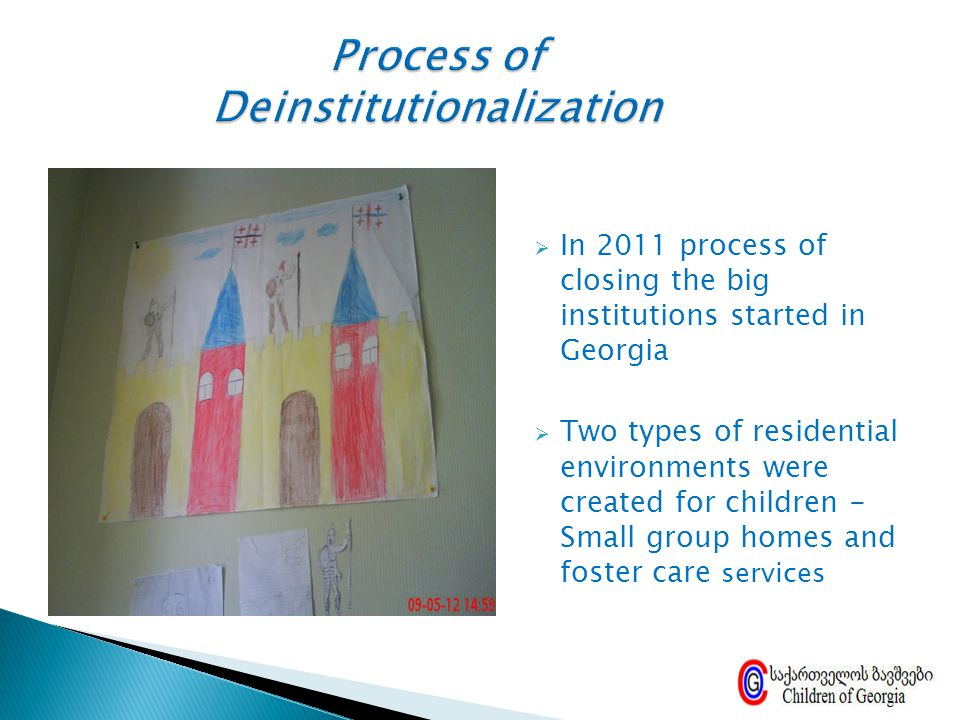 Process of Deinstitutionalization