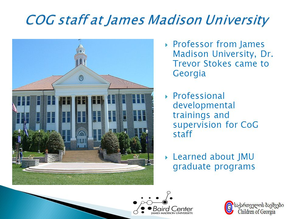 COG staff at James Madison University