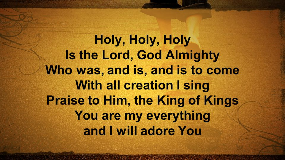Is the Lord, God Almighty Who was, and is, and is to come