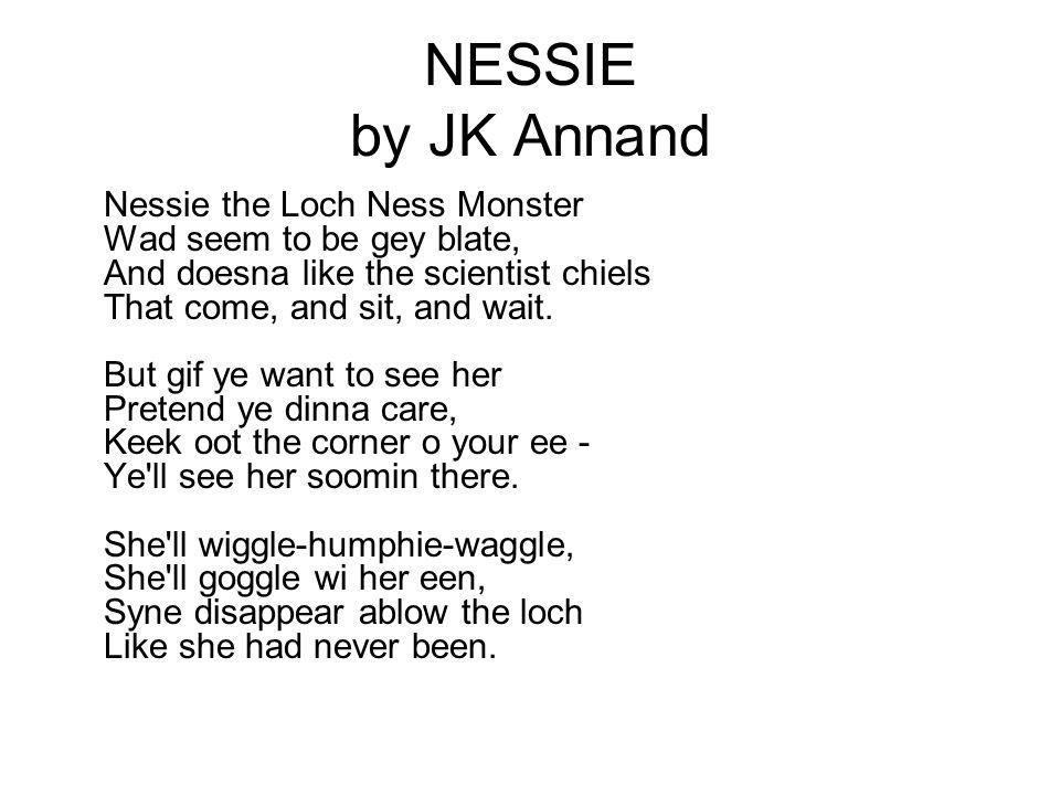 NESSIE by JK Annand