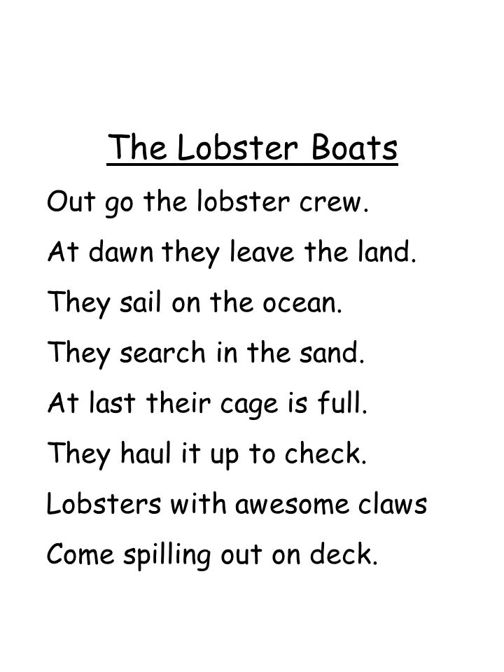 The Lobster Boats Out go the lobster crew.