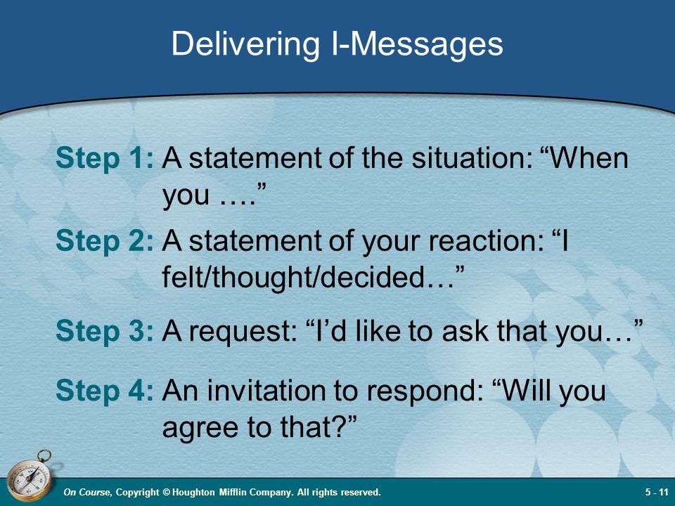 Delivering I-Messages