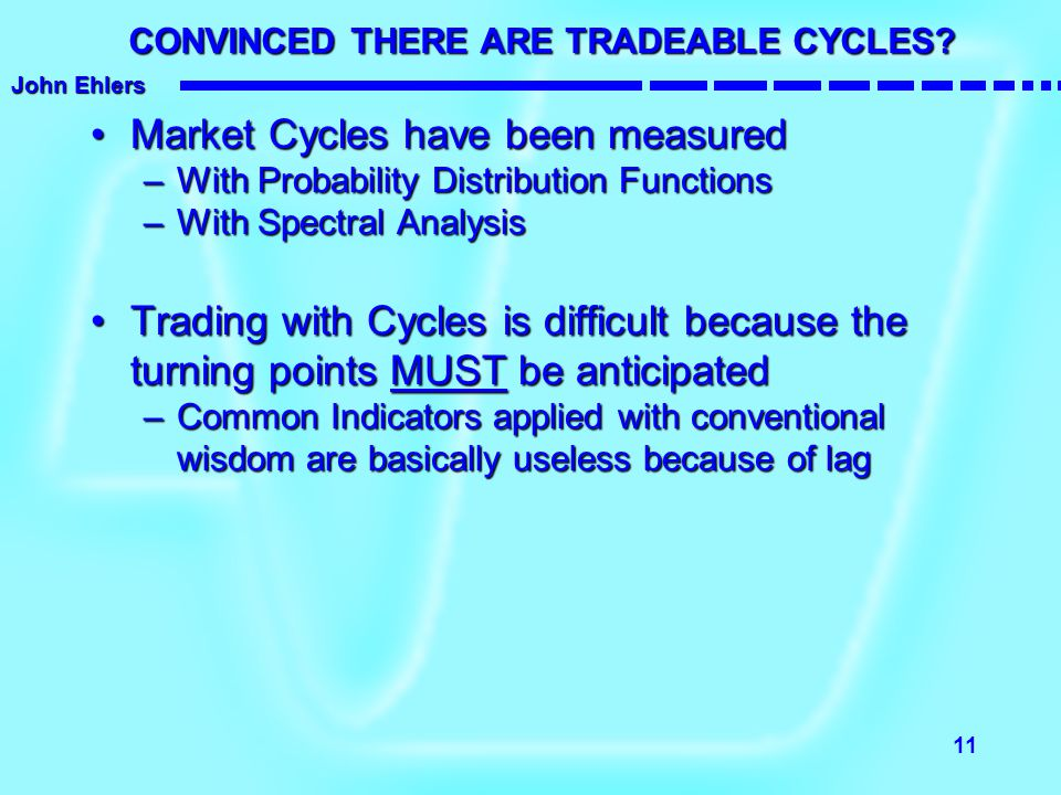 CONVINCED THERE ARE TRADEABLE CYCLES