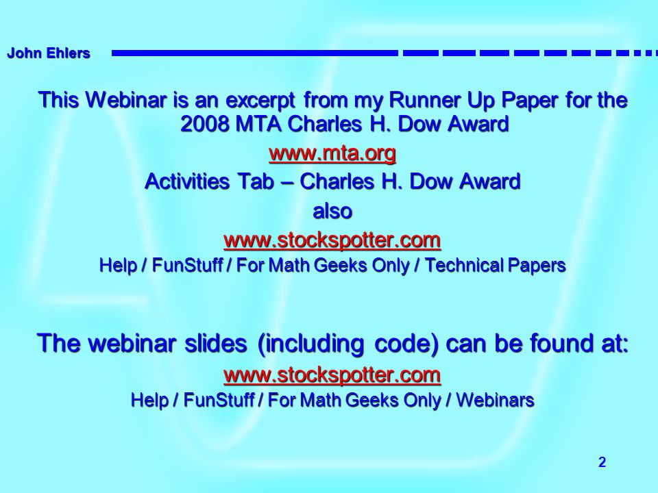 The webinar slides (including code) can be found at: