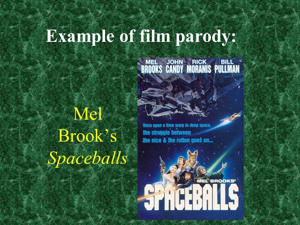 Mel Brook's Spaceballs