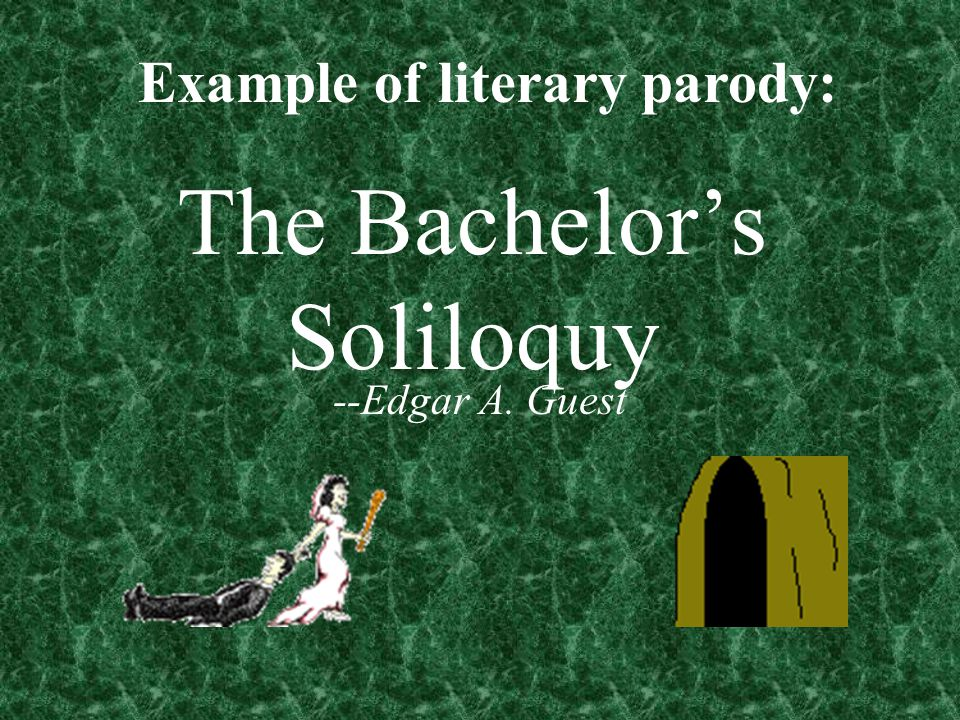The Bachelor's Soliloquy