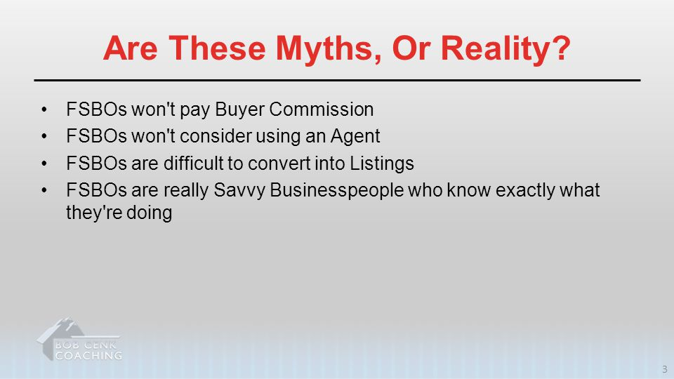 Are These Myths, Or Reality