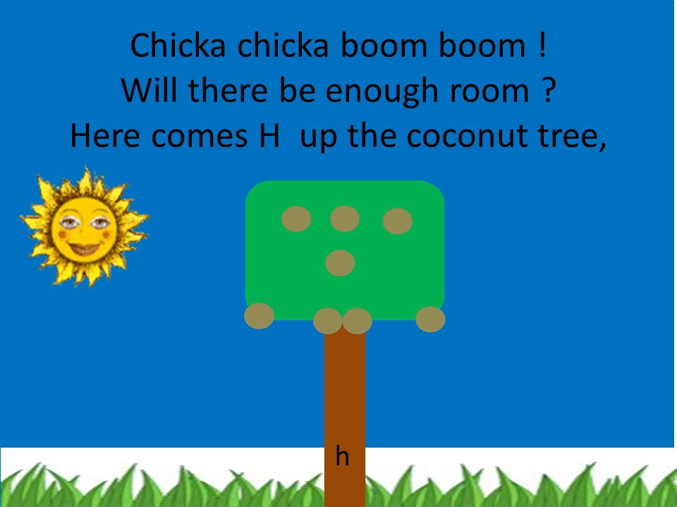 chicka chika boom boom will there Chicka chicka boom boom, welcome to my speech room wait, it's mid august already wait, school starts on monday although i can't quite believe it it's back to.