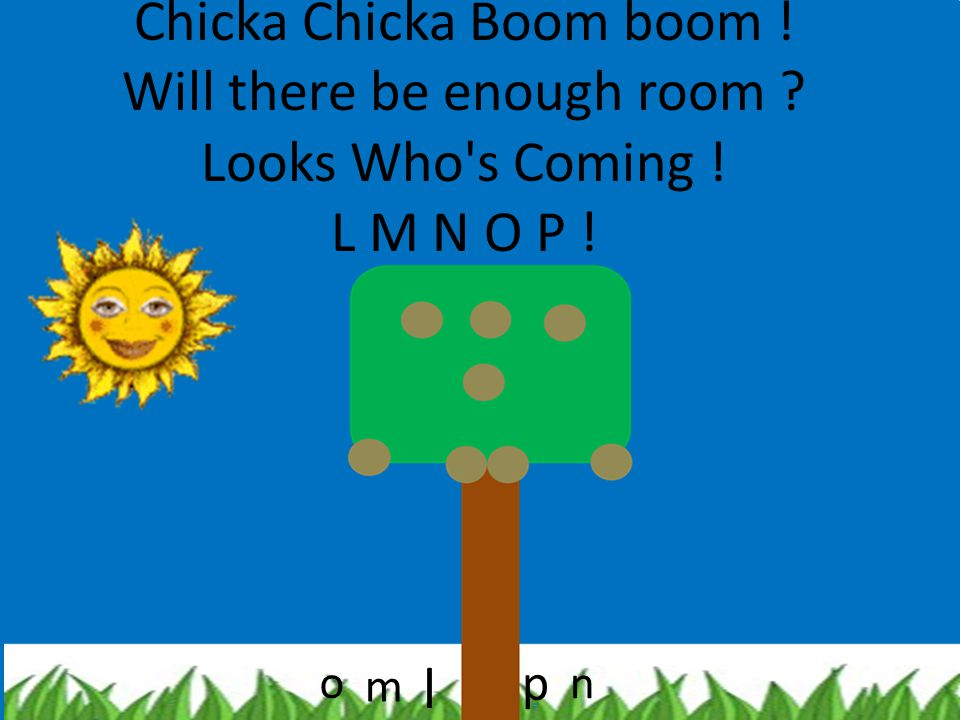 Chicka Chicka Boom boom. Will there be enough room. Looks Who s Coming