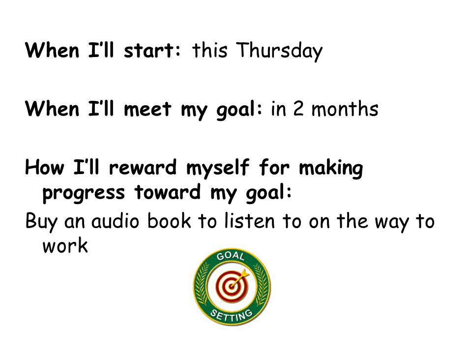 When I'll start: this Thursday