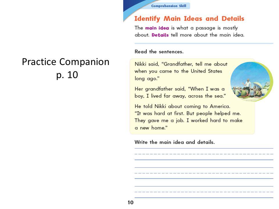 Practice Companion p. 10