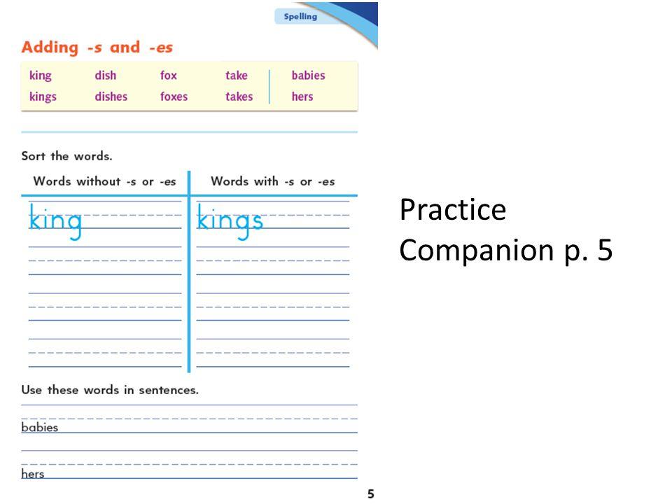 Practice Companion p. 5
