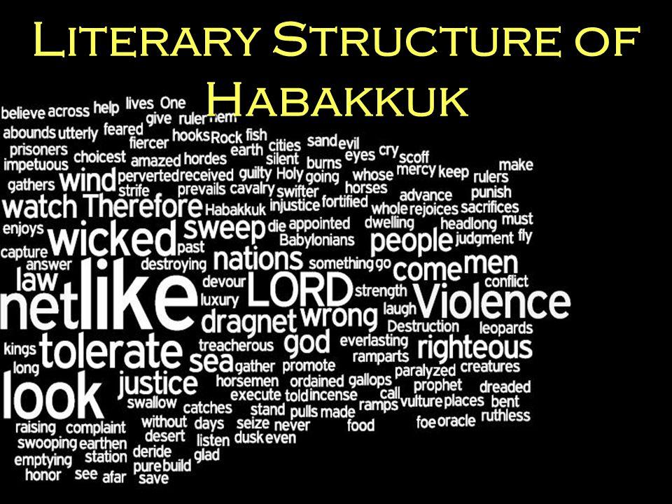 Literary Structure of Habakkuk
