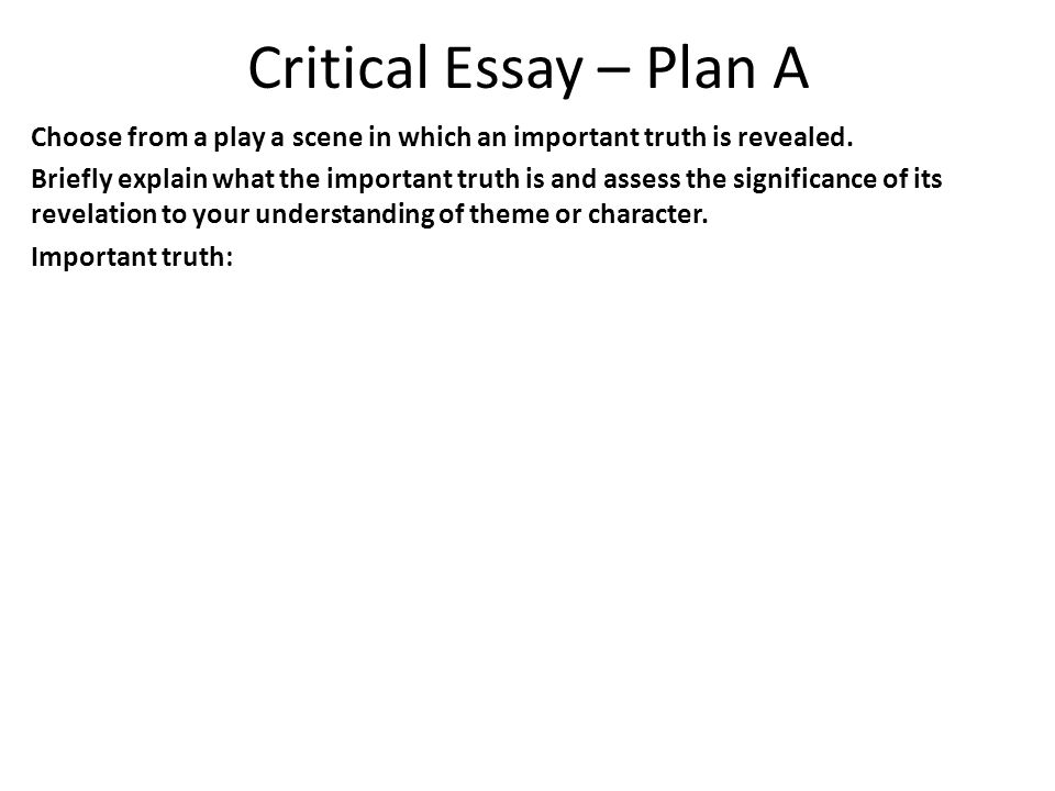 all my sons critical essay question ppt video online  critical essay plan a