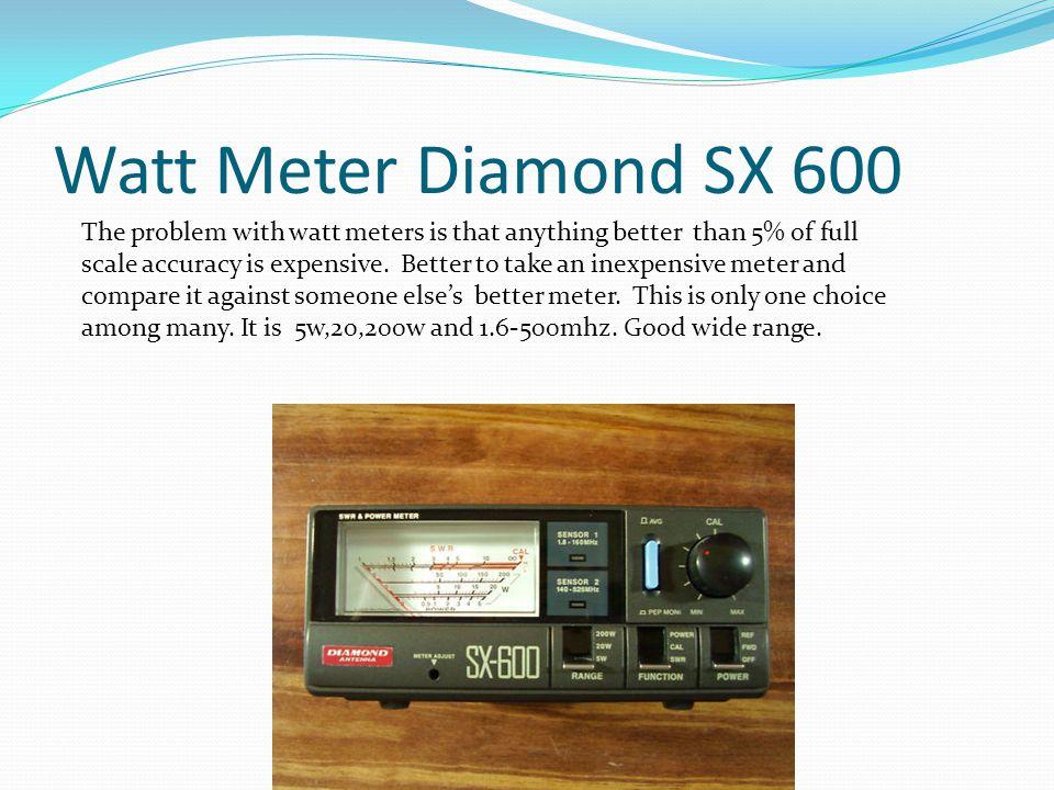 Watt Meter Diamond SX 600