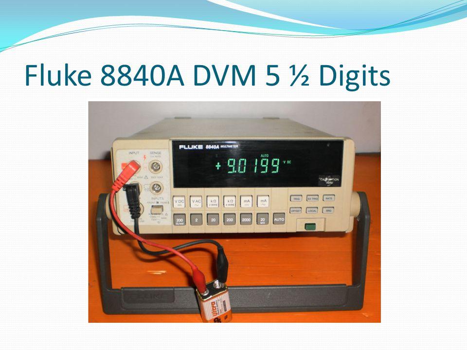 Fluke 8840A DVM 5 ½ Digits