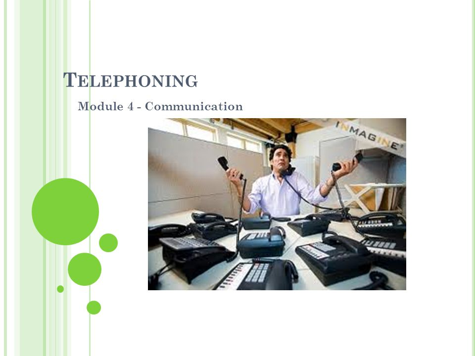 Module 4 - Communication