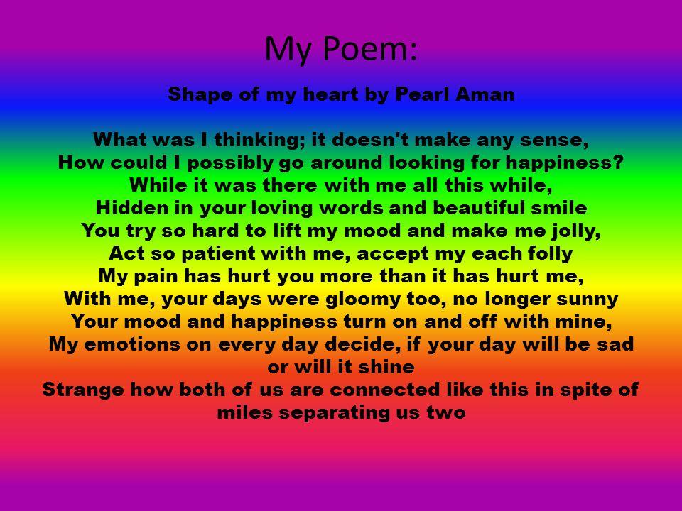 My Poem: