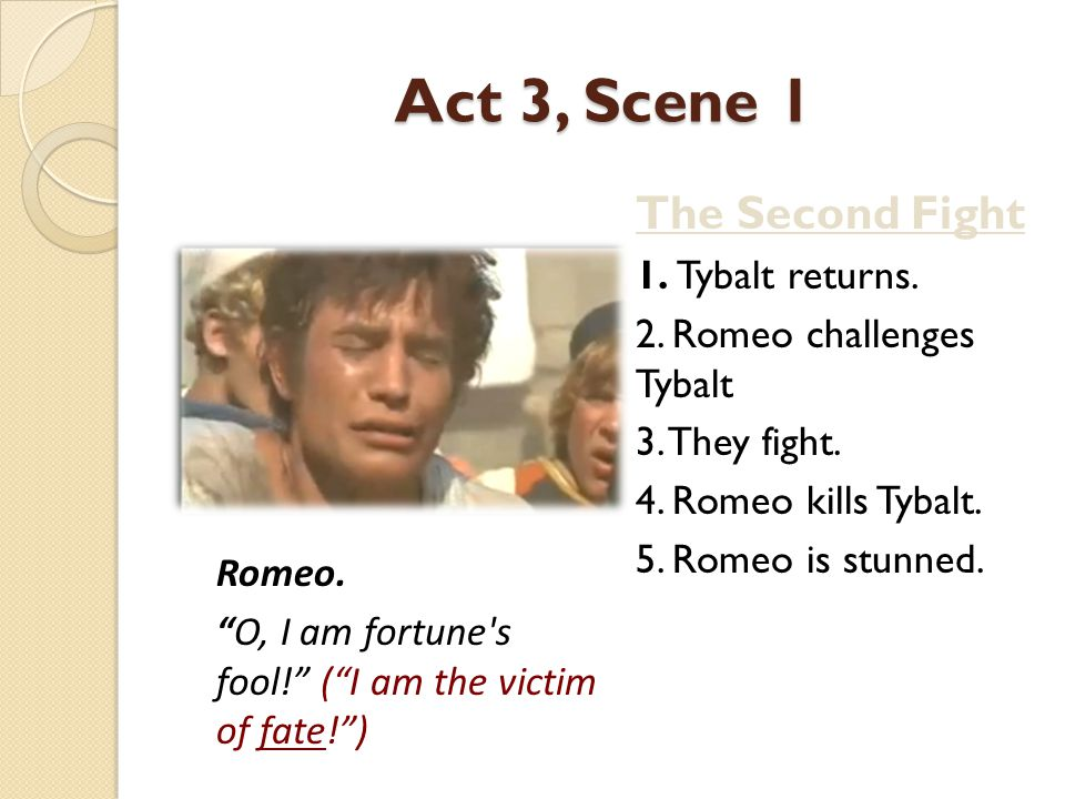 Act 3, Scene 1 The Second Fight 1. Tybalt returns.