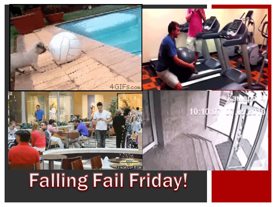 Falling Fail Friday!