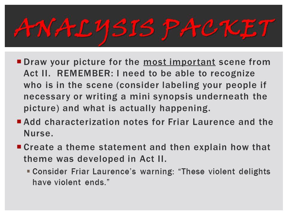 Analysis Packet