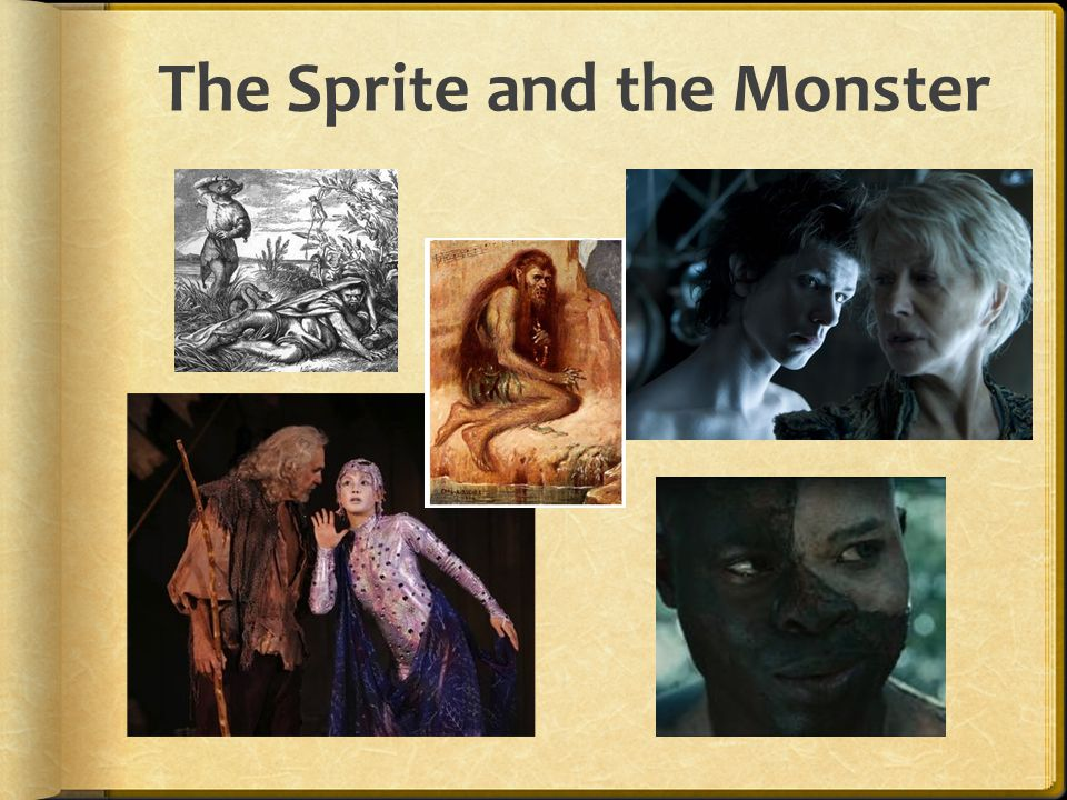 The Sprite and the Monster
