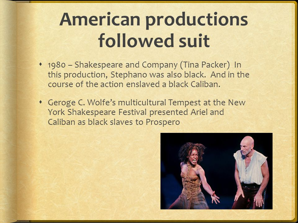 American productions followed suit