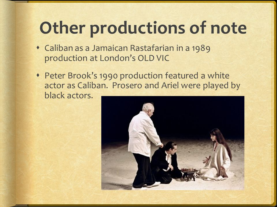 Other productions of note