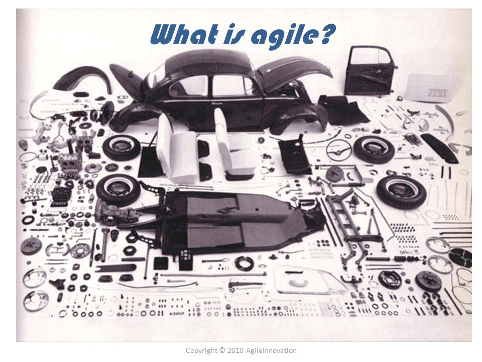 Copyright © 2010 AgileInnovation