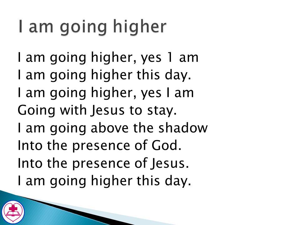 I am going higher
