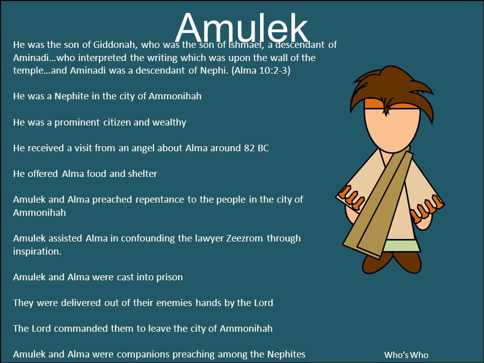 Amulek