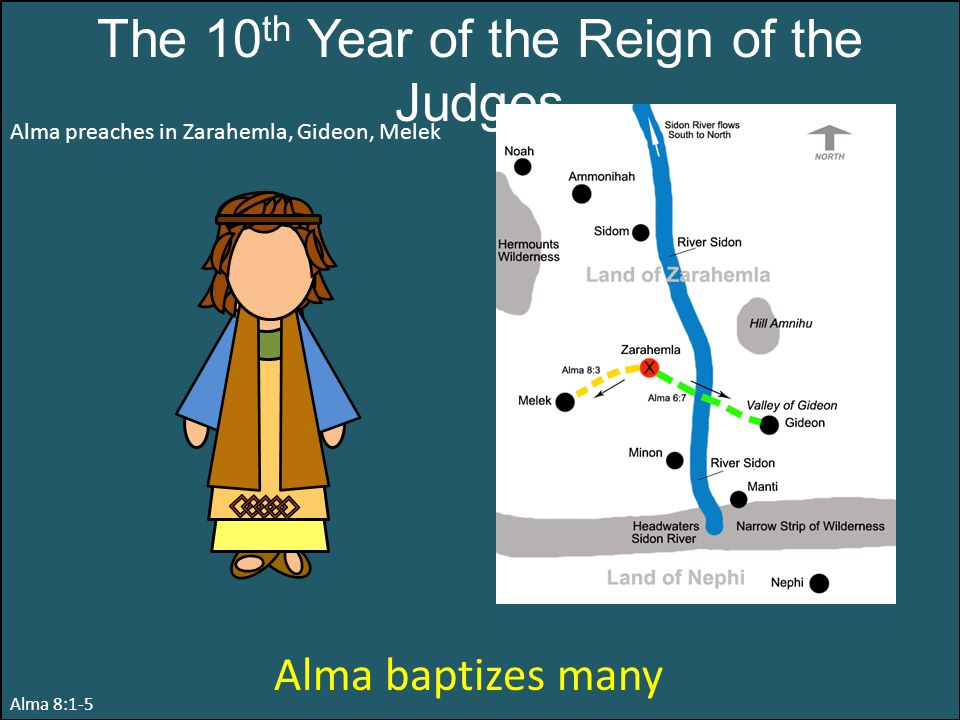The 10th Year of the Reign of the Judges