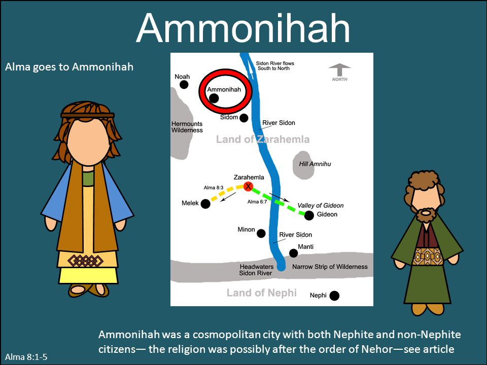 Ammonihah Alma goes to Ammonihah