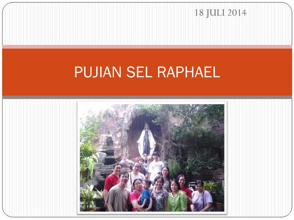 18 JULI 2014 PUJIAN SEL RAPHAEL