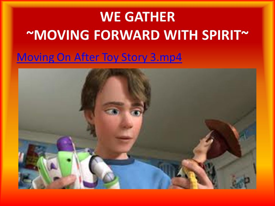 WE GATHER ~MOVING FORWARD WITH SPIRIT~